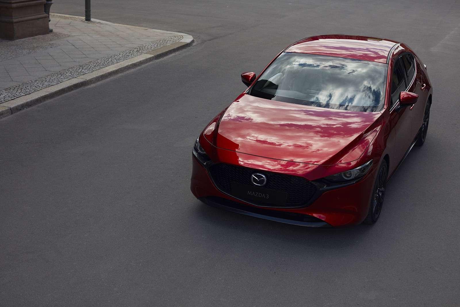 Новая Mazda 3: рассматриваем вдеталях совсех сторон— фото 928203
