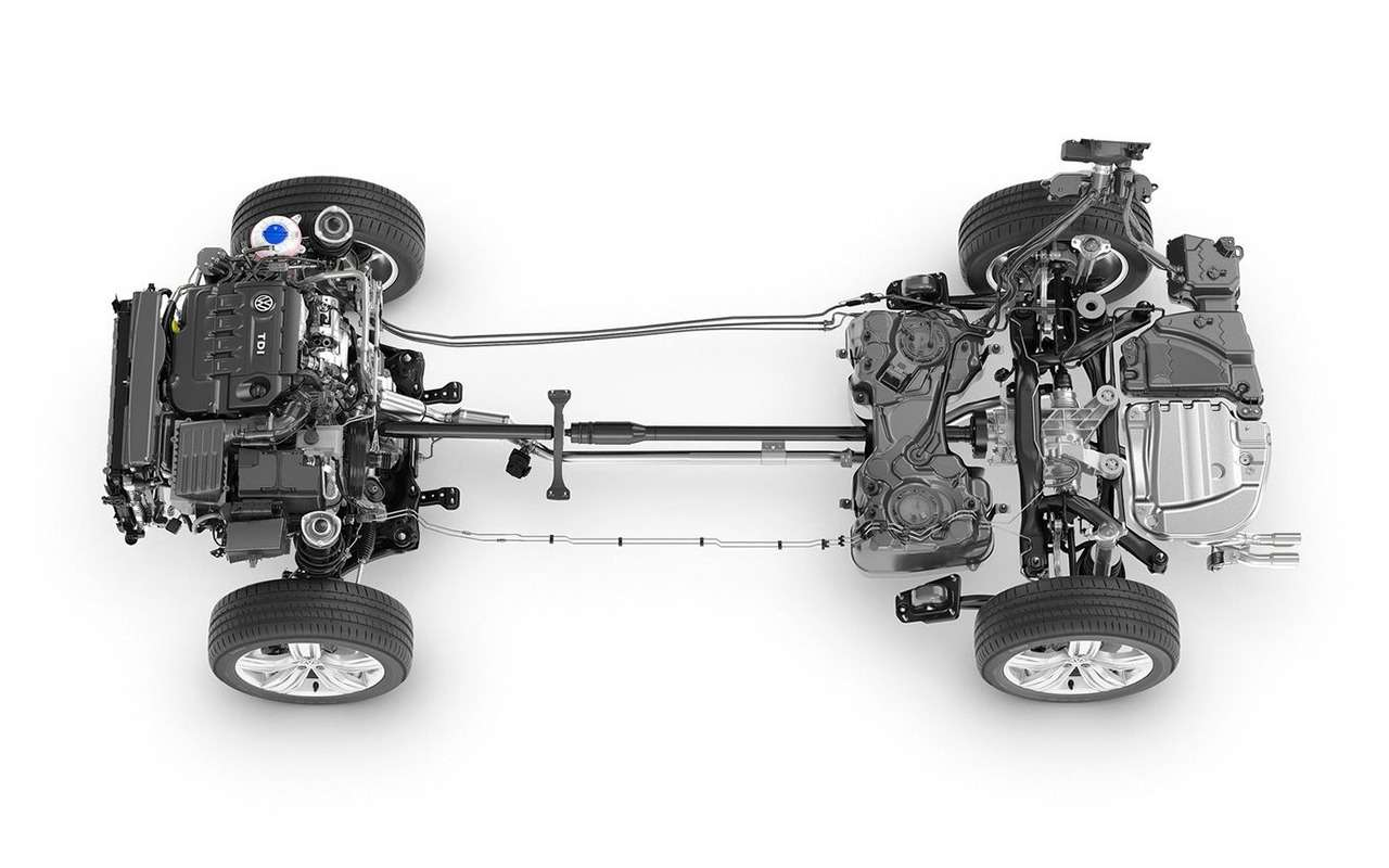 5 плюсов иодин минус Volkswagen Tiguan— фото 886324