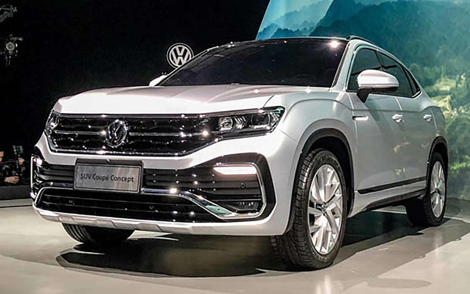 Volkswagen сделал конкурента Renault Arkana— фото 966340