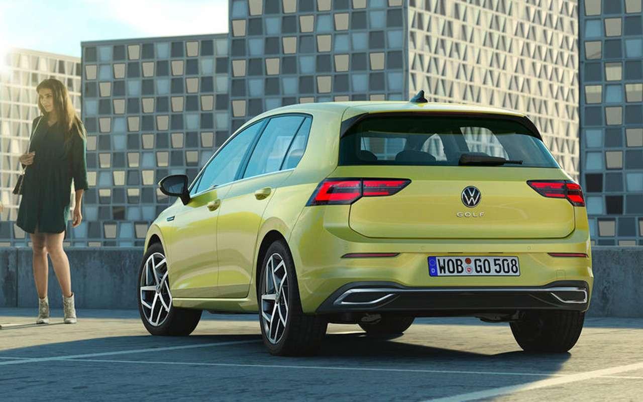 Новый Volkswagen Golf: запланированная «утечка» доофициальной премьеры— фото 1004395