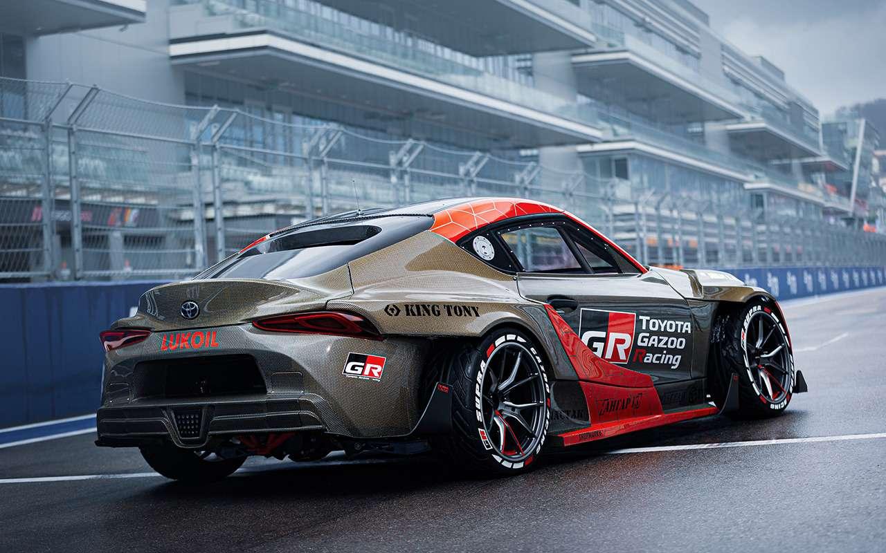 Toyota показала 1015-сильный спорткар Supra— фото 1217500