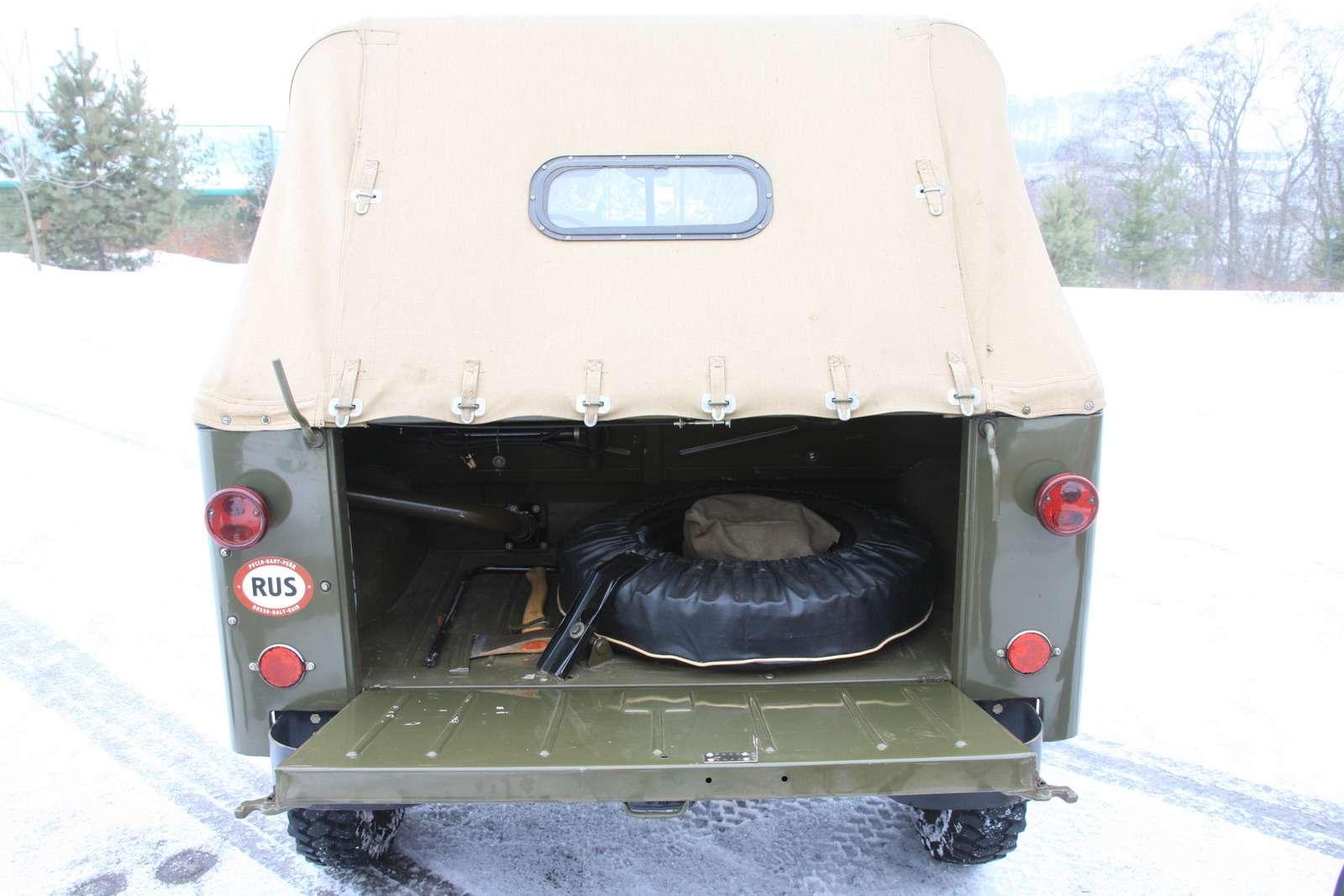 «Козел-труженик»: 11 удивительных фактов о ГАЗ-69 - фото 1225235
