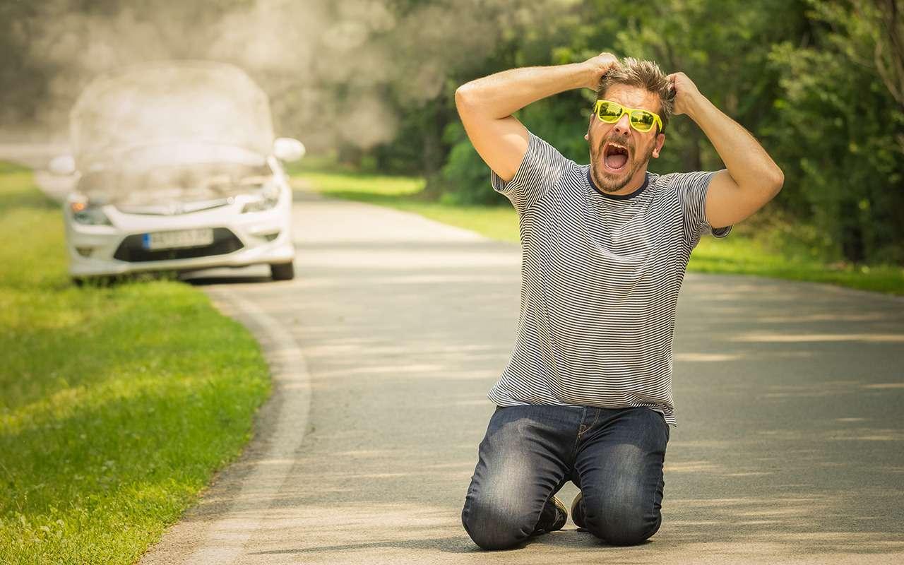 Оставили автомобиль нажаре? Вот что выиспортите внем!— фото 974475