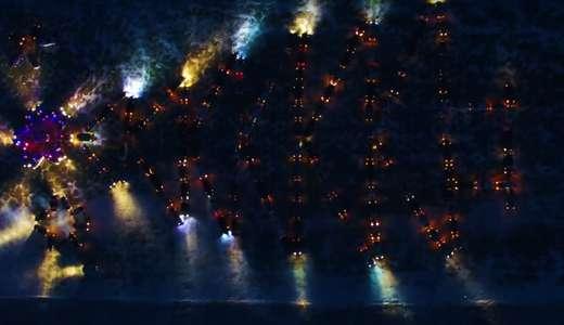 На автоелку «сложились» всем миром: флэшмоб из 170 автомобилей