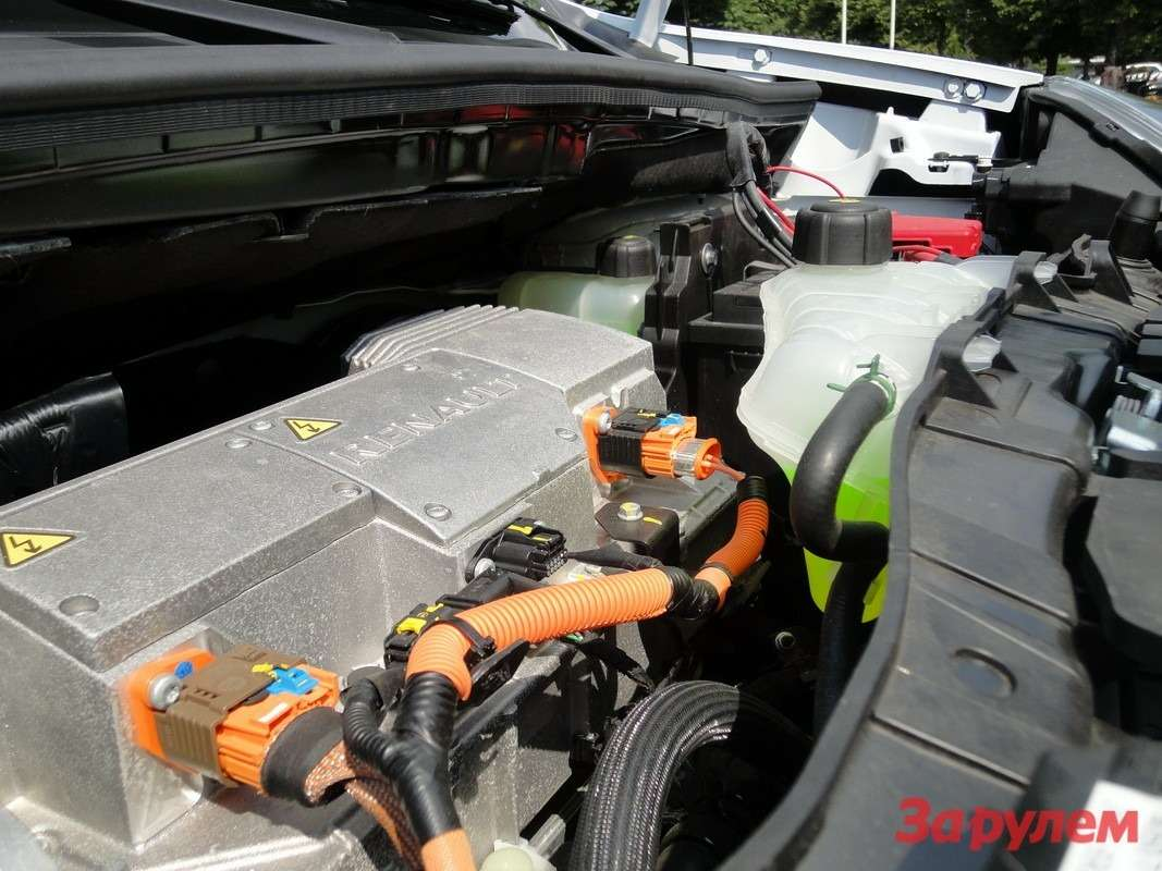 Двигатель внутреннего сгорания уступил место электромотору