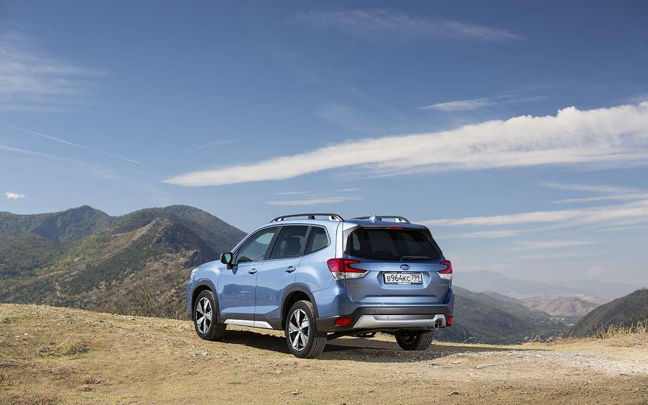 Subaru Forester 2019: больше никаких турбонаддувов!— фото 912601