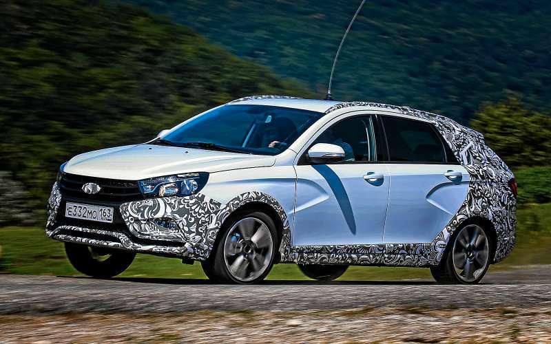 Lada Vesta SWCross— первый тест-драйв