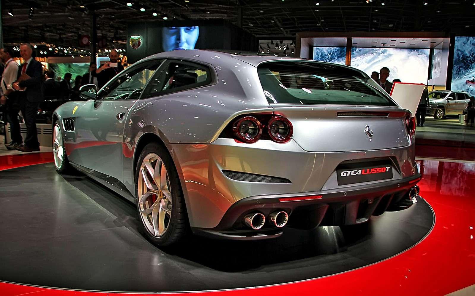 Махнул не глядя: Ferrari GTC4Lusso Tпоменял полный привод натурбонаддув— фото 641810