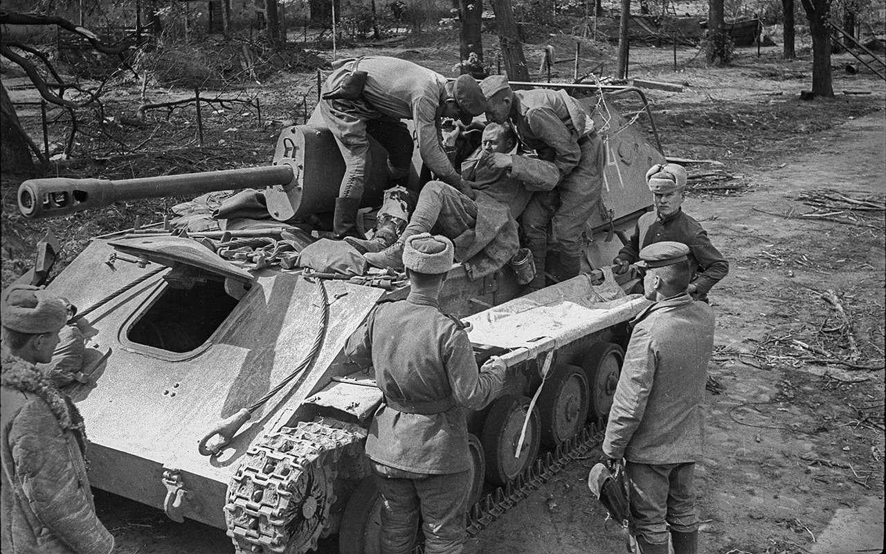 Самая массовая самоходка СССР: лучшая подруга пехоты— фото 916743