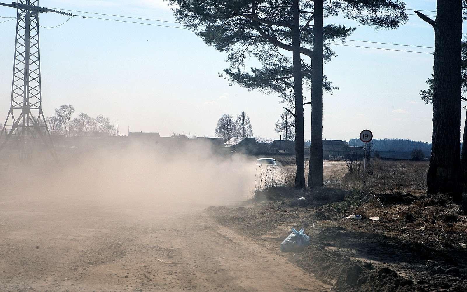 пыльная дорога