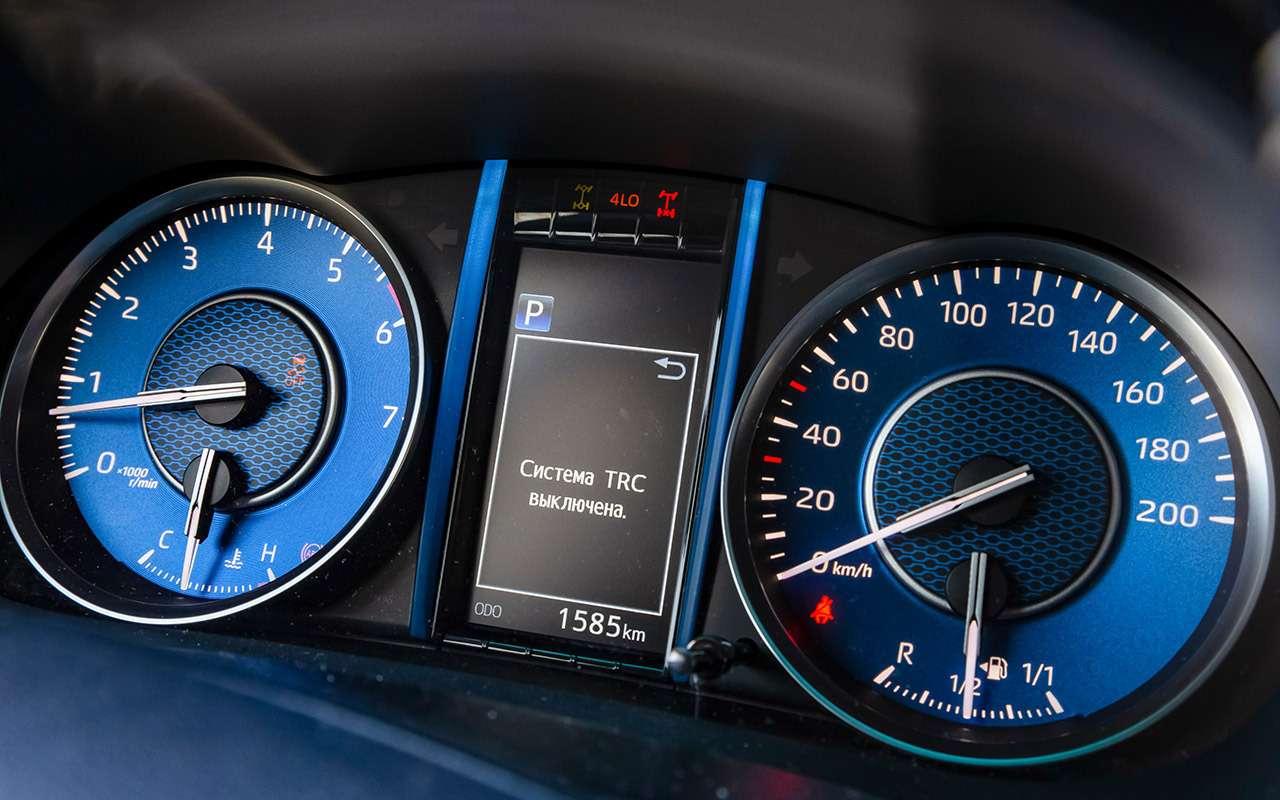 Обновленная Toyota Fortuner: таким мог быть Патриот!— фото 1205575