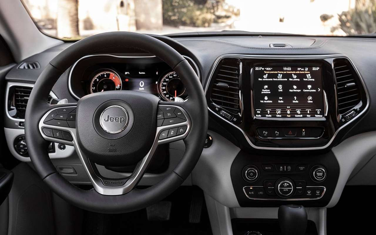 4 достоинства иодна недоработка обновленного Jeep Cherokee— фото 986328