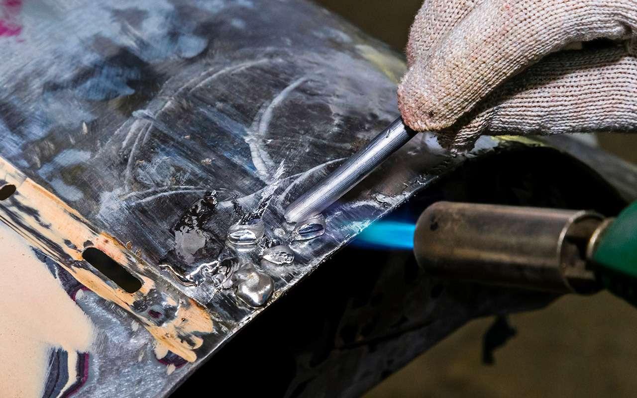 Каксэкономить накузовном ремонте— полузабытый способ— фото 964535