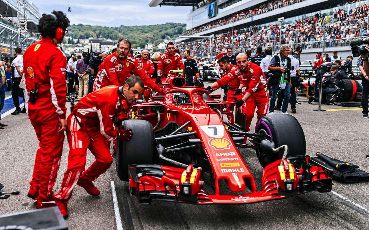 Российский этап Формулы-1: взгляд избокса Renault Sport F1Team— фото 918467