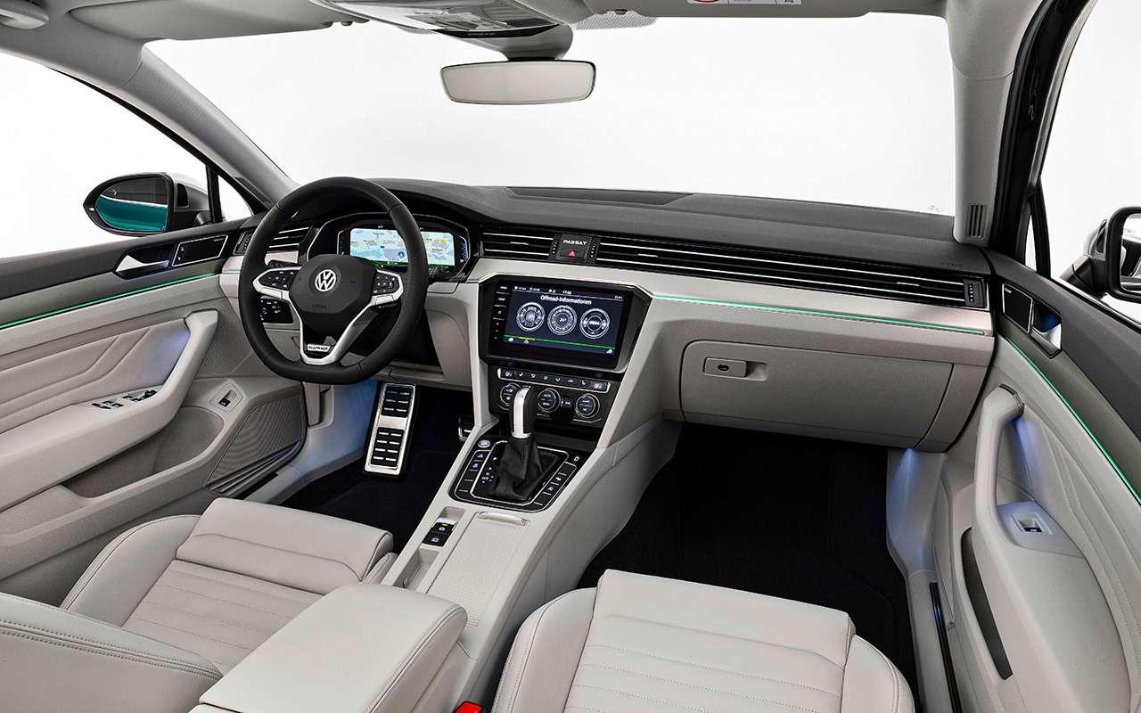 Обновленный Volkswagen Passat— все его изменения— фото 951172