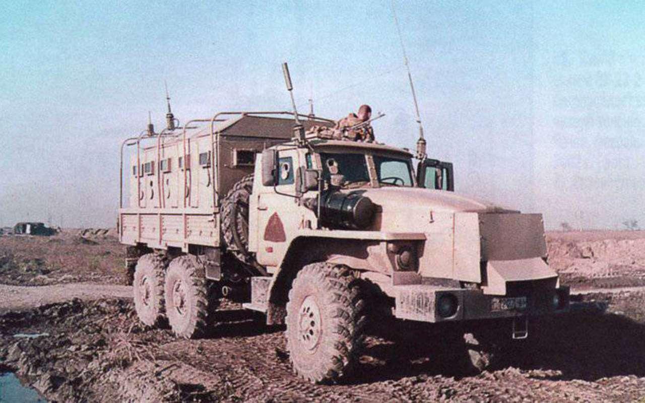 Суровый русский «проходимец»: история грузовика Урал— фото 992848