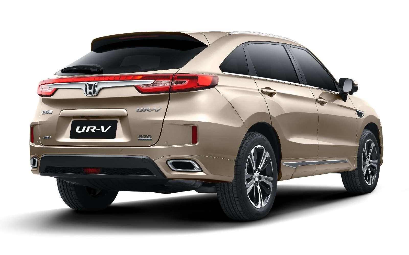 Новый кроссовер Honda UR-V: оннеполучка, не аванс— фото 715526