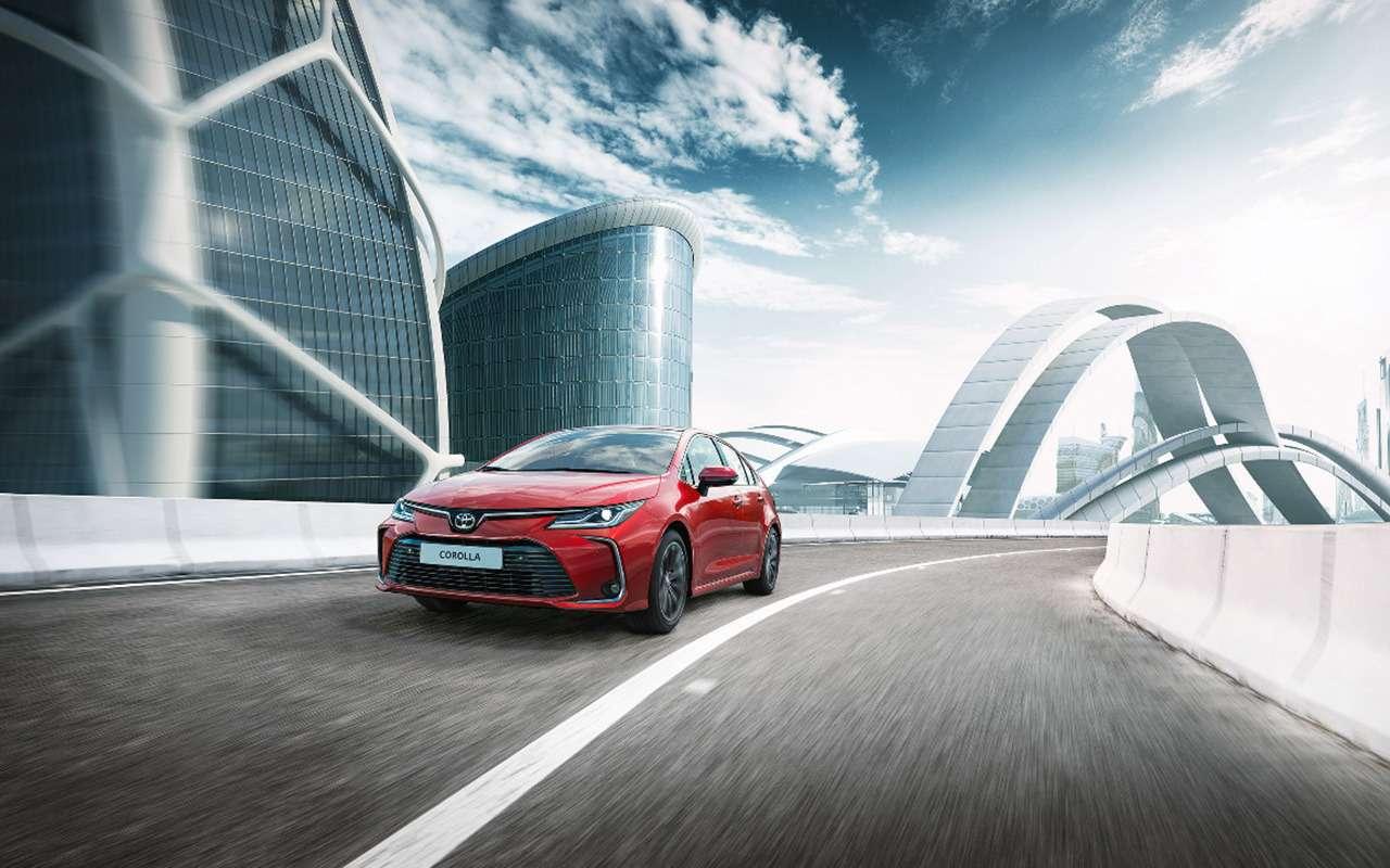 Toyota Corolla 2020: обновленные версии иновые цены— фото 1071106