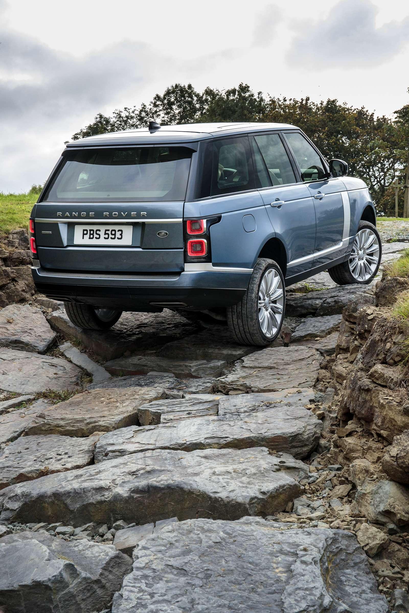 Обновленный Range Rover— ищем изменения слупой— фото 803910