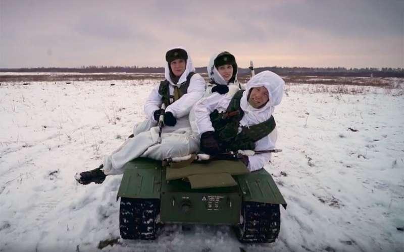 Бесконечный дозор: тест-драйв боевого робота «Нерехта»