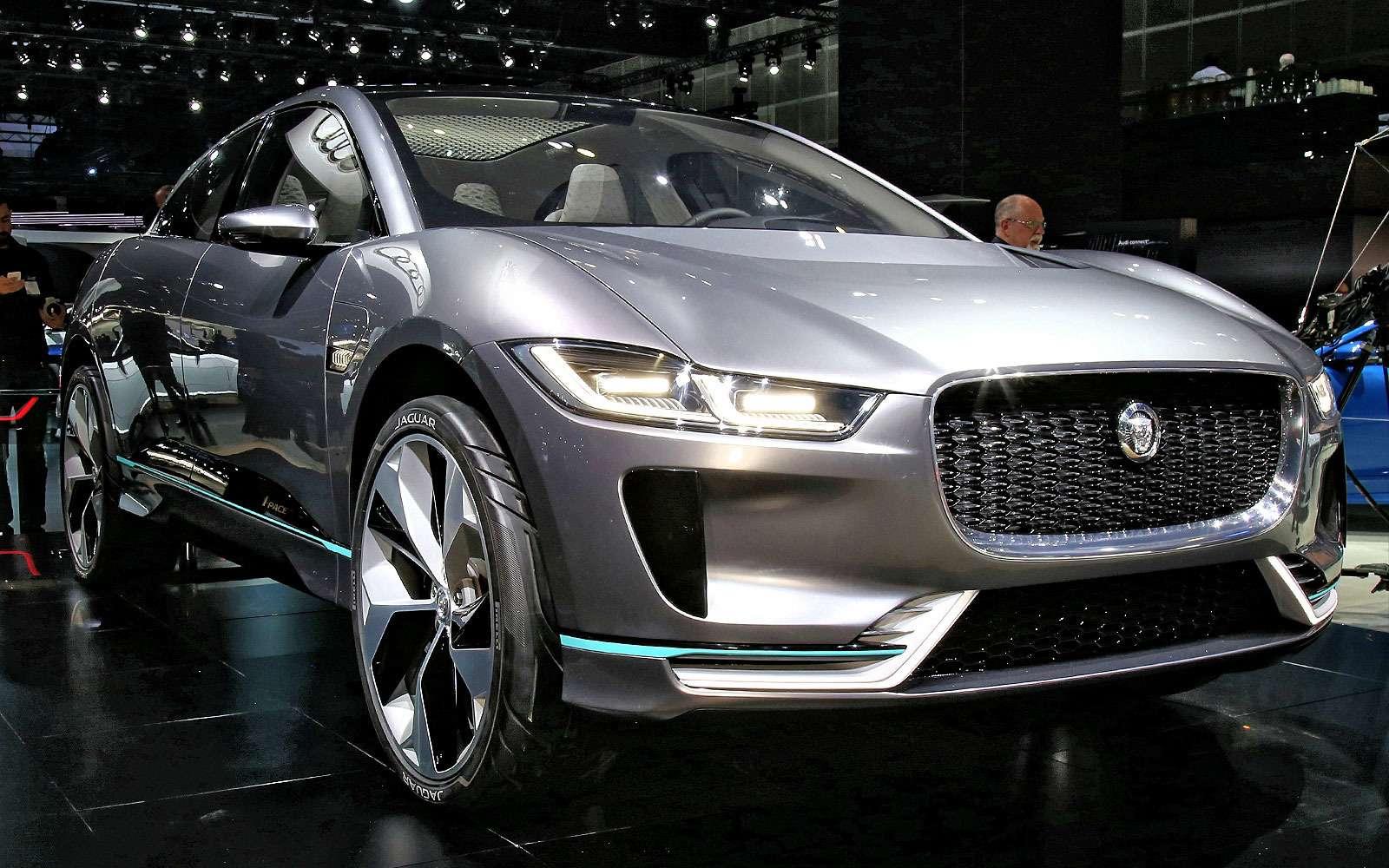 Бесшумная поступь хищника: Jaguar представил электрокроссовер I-Pace— фото 665284