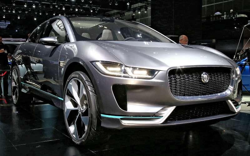 Бесшумная поступь хищника: Jaguar представил электрокроссовер I-Pace