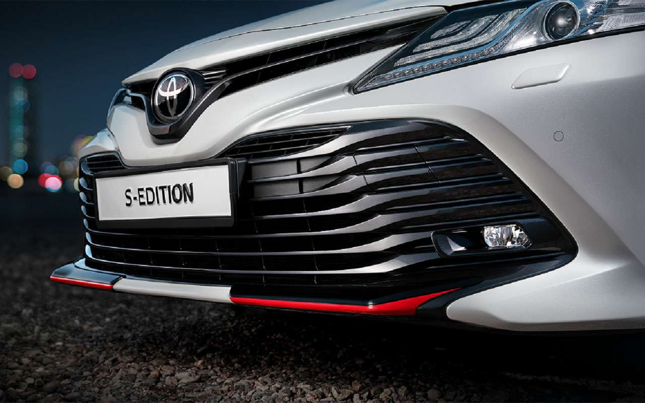 Toyota Camry S-Edition: версия соспортивными нотками— фото 1085432