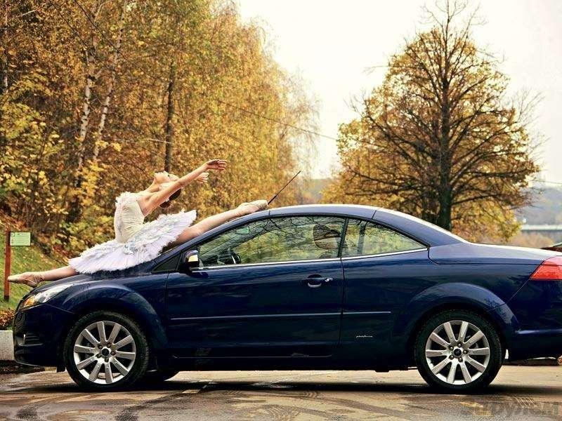 Наше знакомство Ford Focus Coupe-Cabriolet: Кабрио-балет— фото 91275