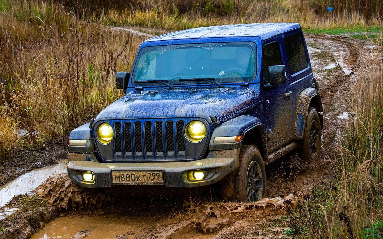 Тест-драйв легенд бездорожья: Lada 4x4, Suzuki Jimny, Jeep Wrangler— фото 1089419
