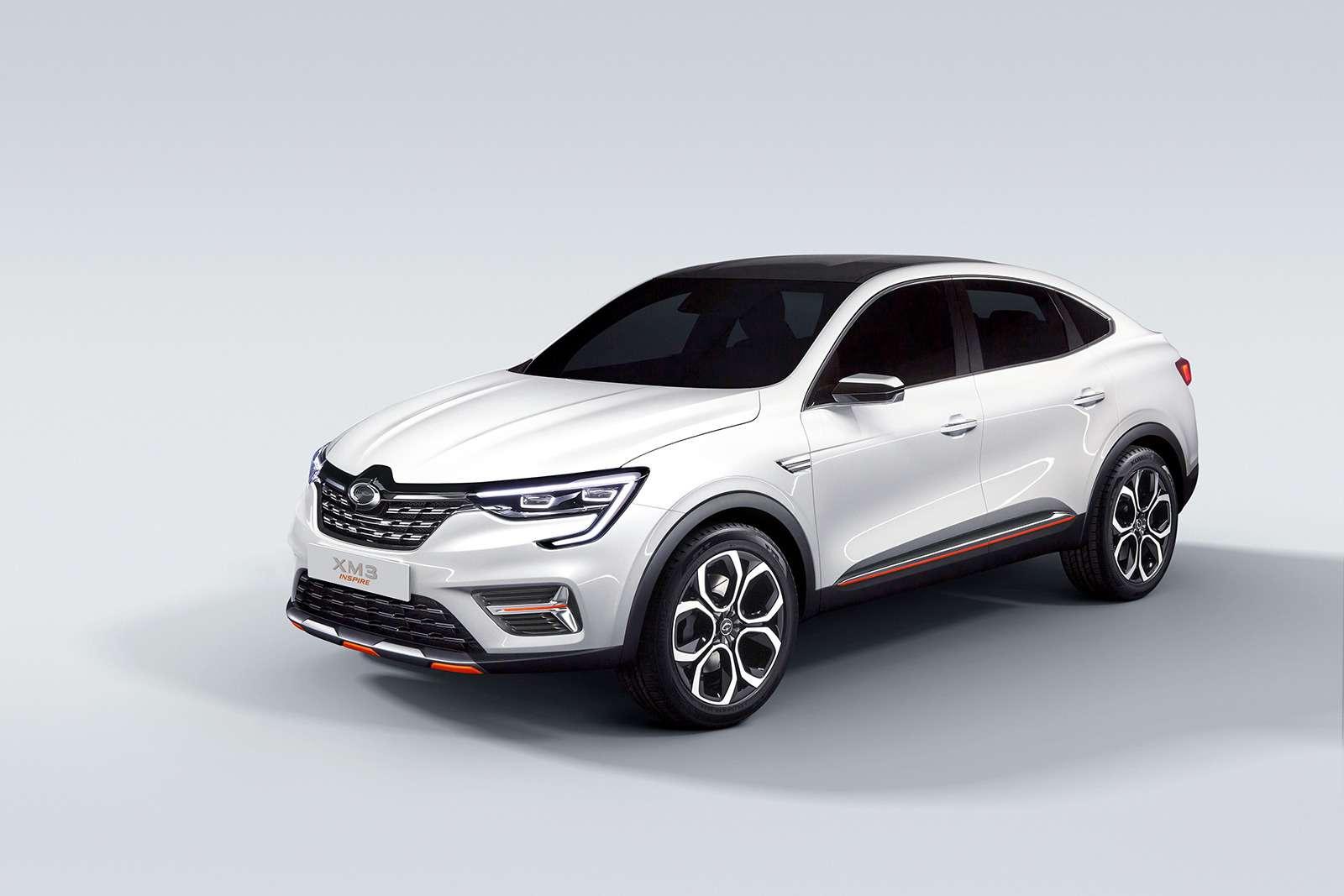 Renault Arkana: новое имя ипрописка— фото 961337