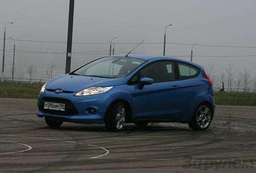 Тест Ford Fiesta Sport: Кинетический антидепрессант (ВИДЕО)— фото 5929