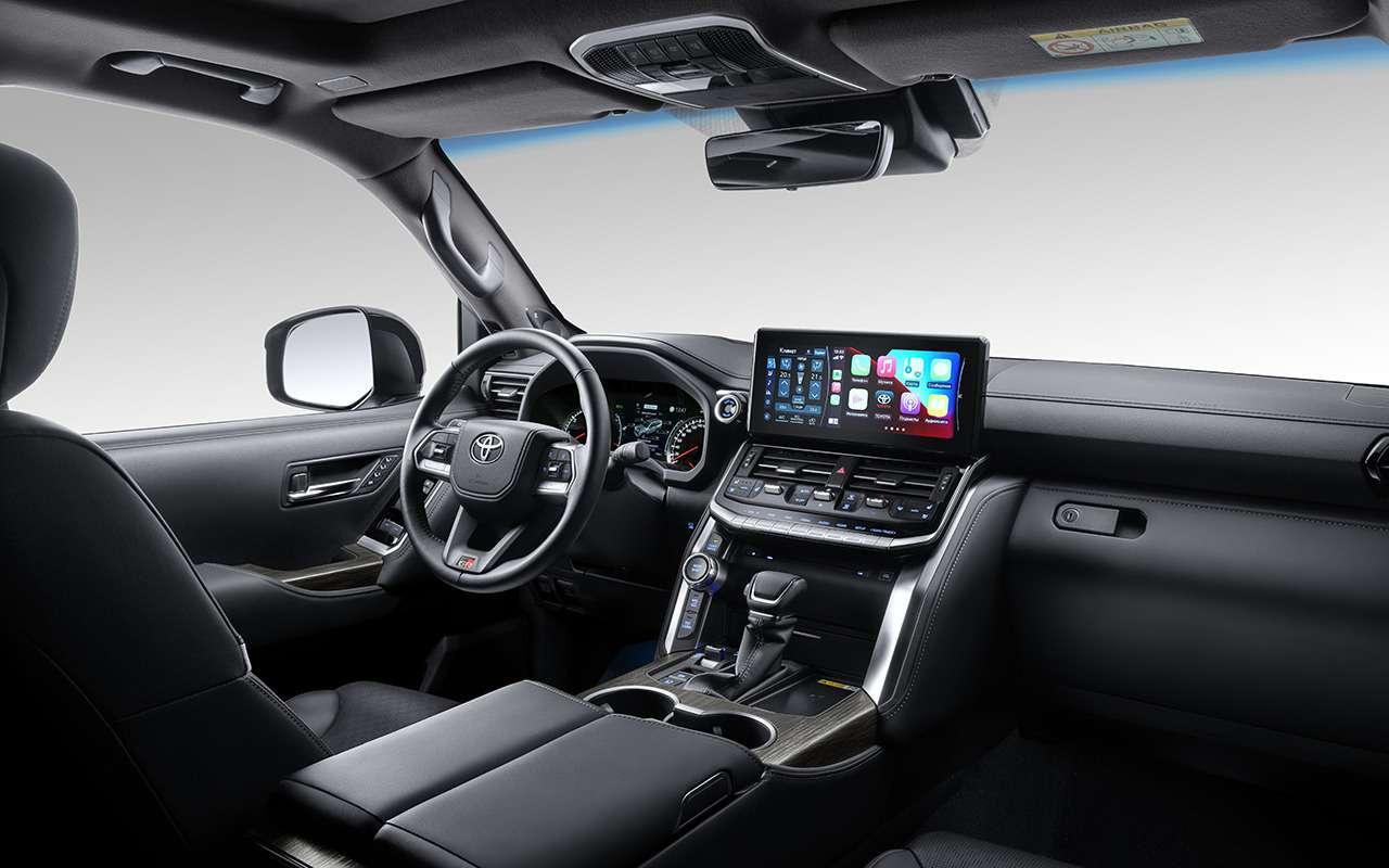 Начались продажи самого крутого Land Cruiser 300— вверсии GRSport— фото 1274160