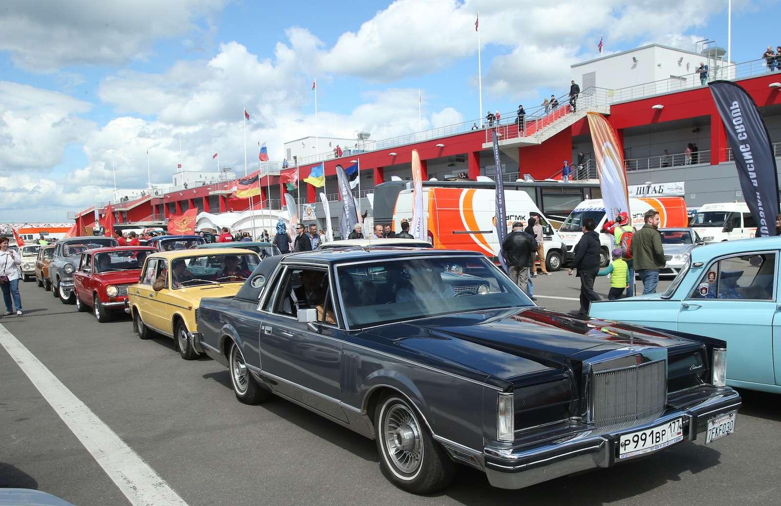 Болид ГАЗ-24«Зарулем» наMoscow Classiс Grand Prix— фото 608352