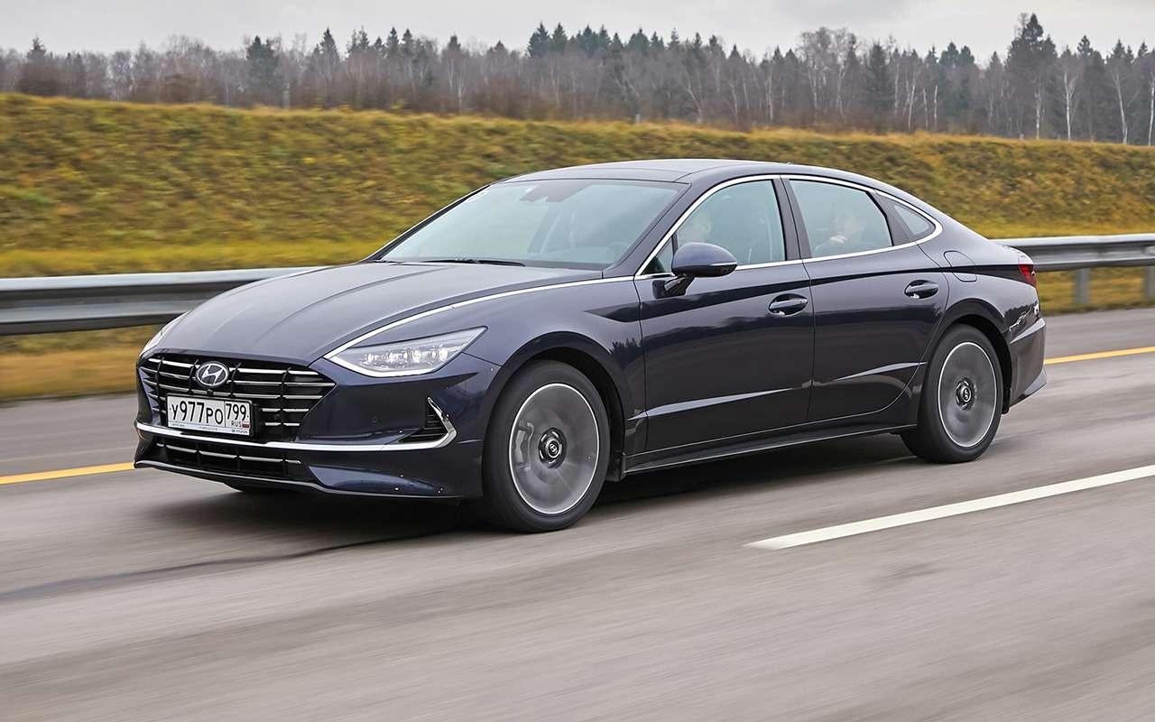 Hyundai представила восьмое поколение седана Sonata— фото 1010344