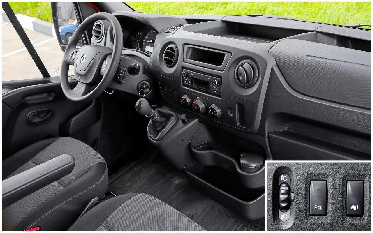Renault длябизнеса: тест «тонника» Master— фото 994270