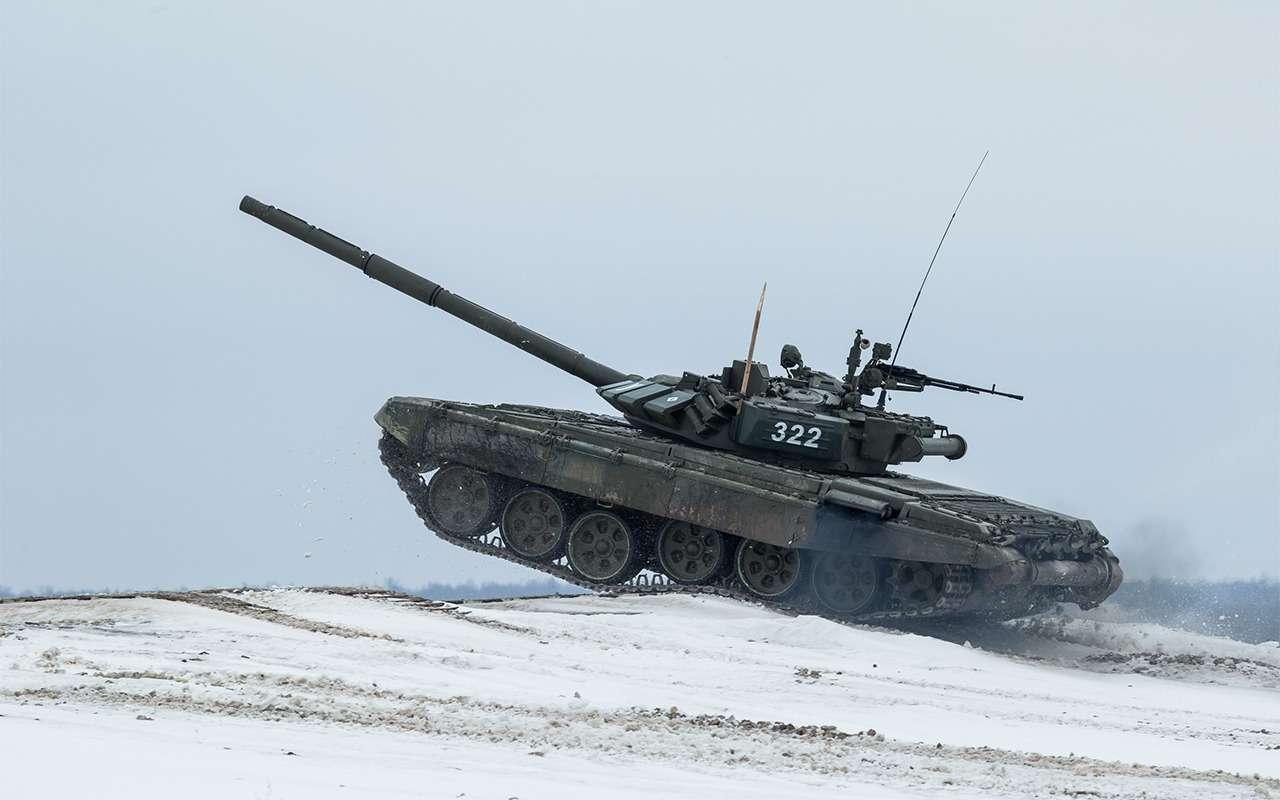 НашТ-72Б3 против немецкого Леопарда-2: пришельцы изпрошлого— фото 864031