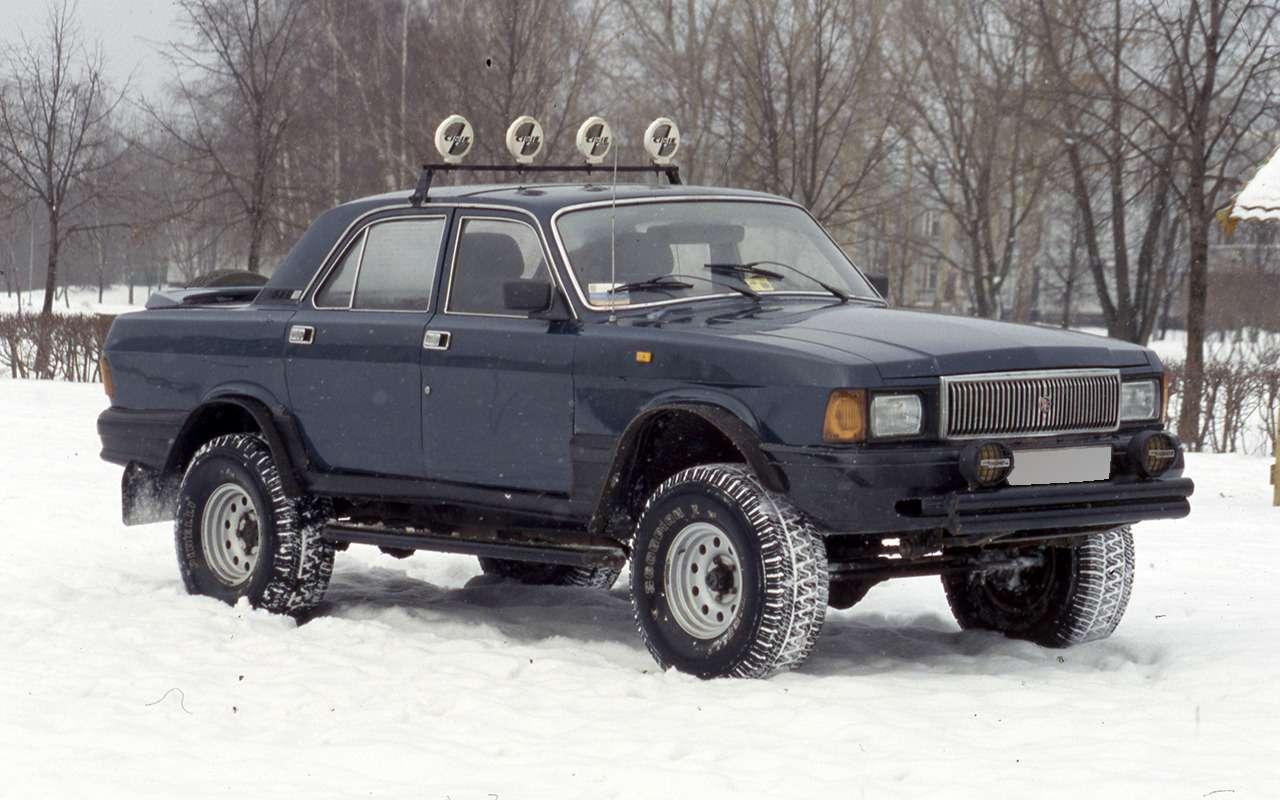 12версий ГАЗ-3102, которых выникогда не видели— фото 1007765