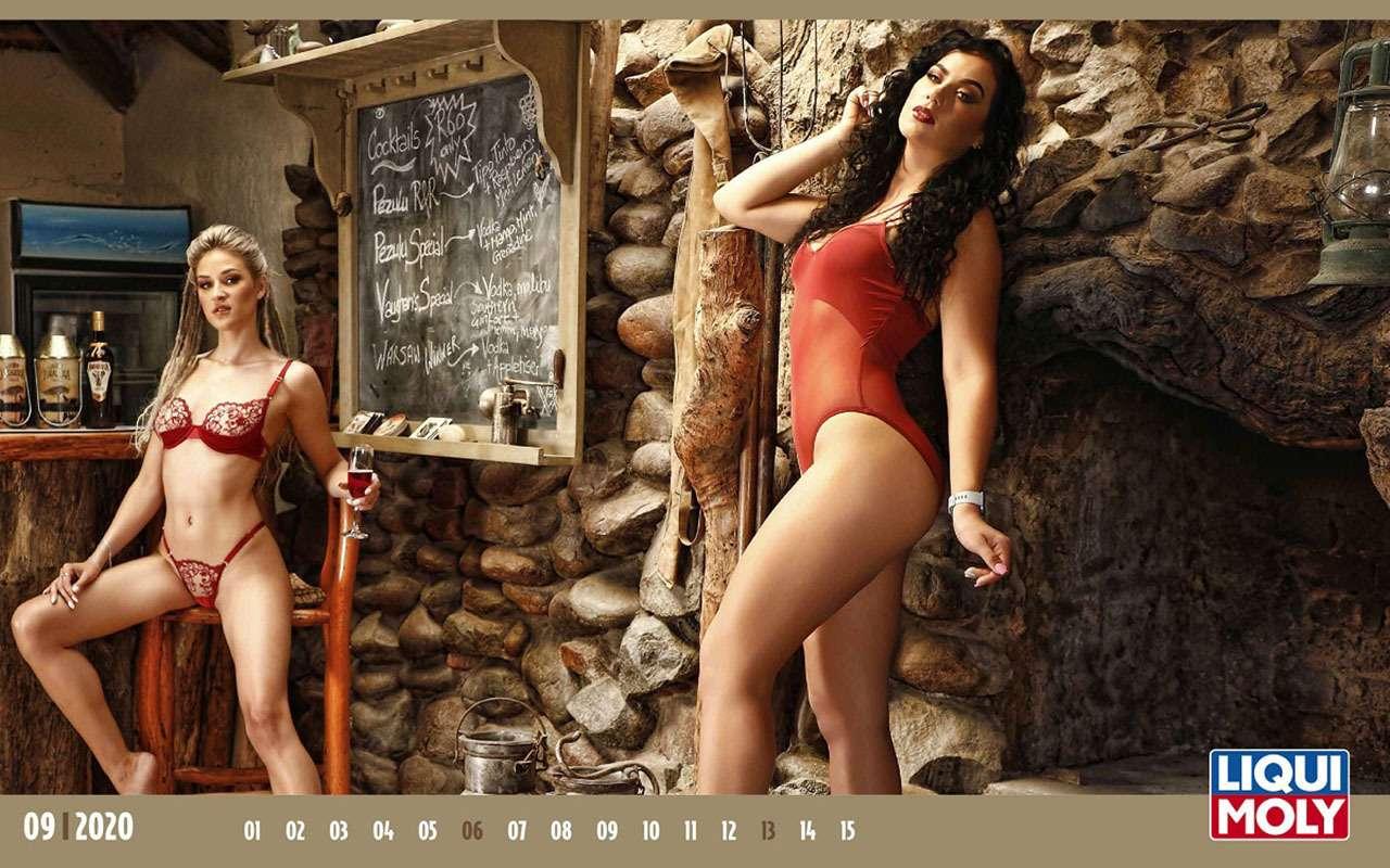 Повесь настену: календарь скрасотками имаслом на2020год— фото 1020432