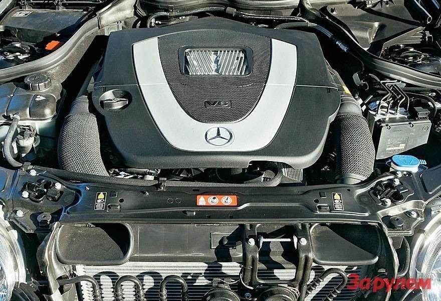 Гамму моторов семейства W203 расширили. Нобазовые агрегаты остались прежние.