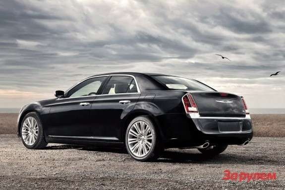 Chrysler 300C side-rear view