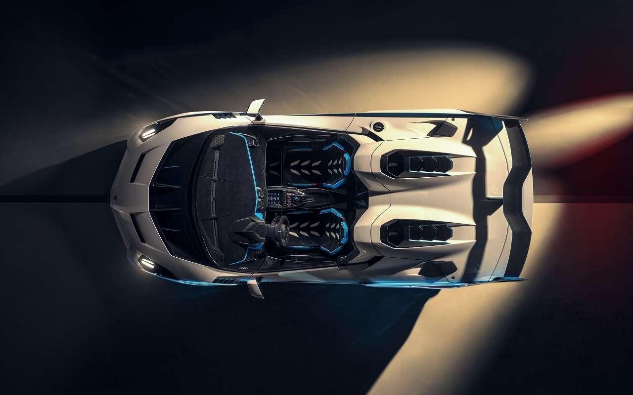 Снос крыши: посмотрите нановый спайдер Lamborghini SC20— фото 1210298