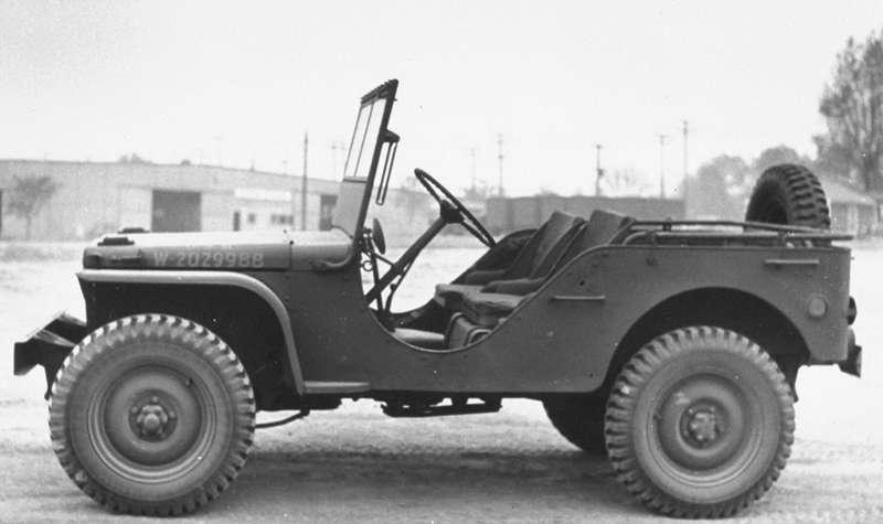 Ford GPуспели построить вколичестве всего 4456 штук— военные отдали предпочтение Willys.