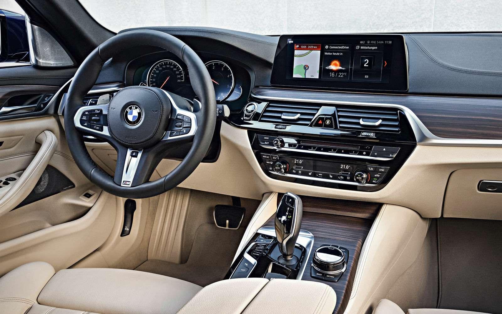 Новая «пятерка» BMW— теперь искузовом универсал— фото 701210