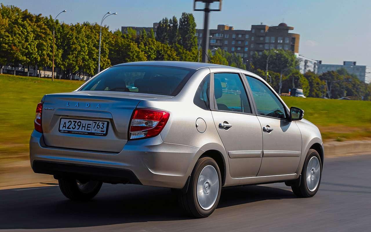 Большой тест обновленных бюджетников: Лада Гранта против Renault Logan— фото 914272
