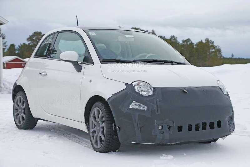 Обновленный Fiat 500в камуфляже