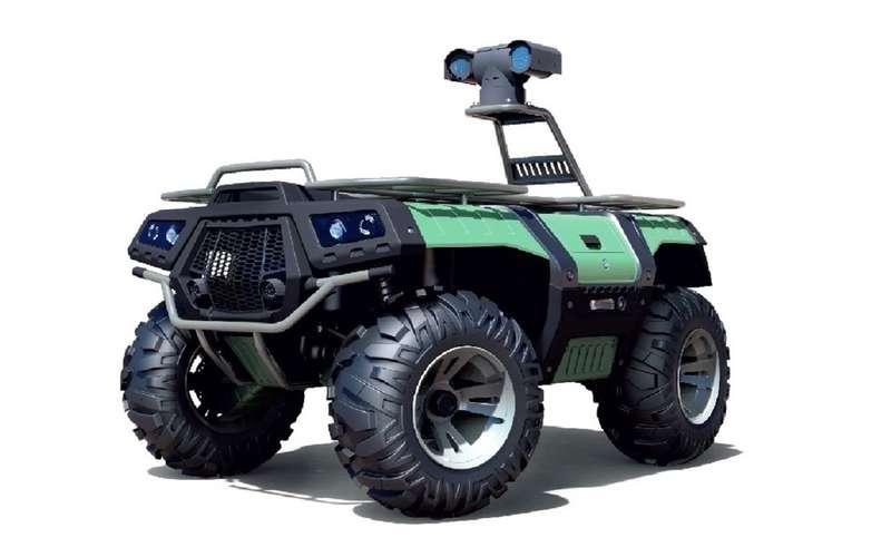Валли намаксималках: вРоссии создали охранно-патрульного робота