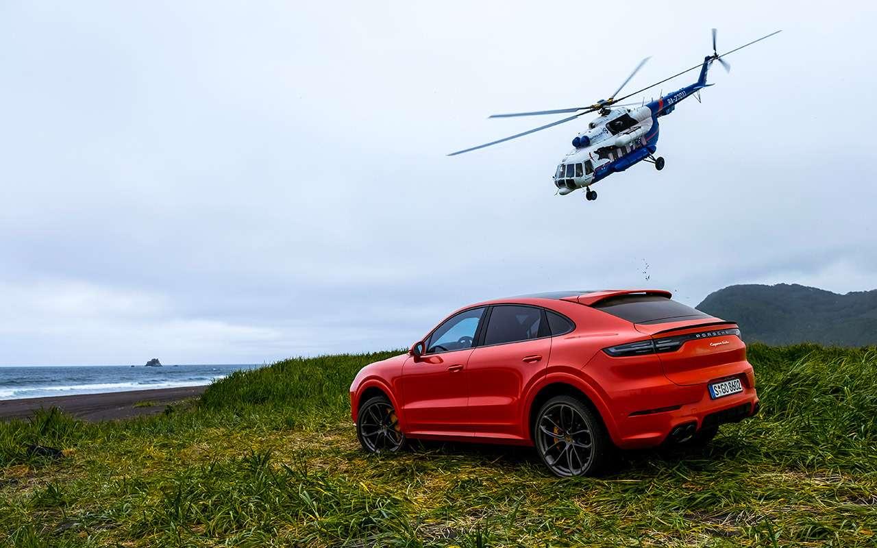 Нановом Porsche навулкан Козельский: доехали досередины— фото 1004241