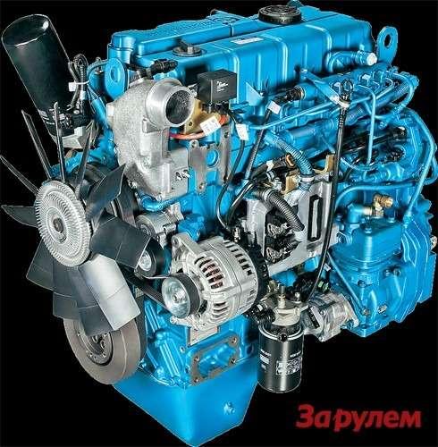 ЯМЗ‑530— новое поколение ярославских дизелей.