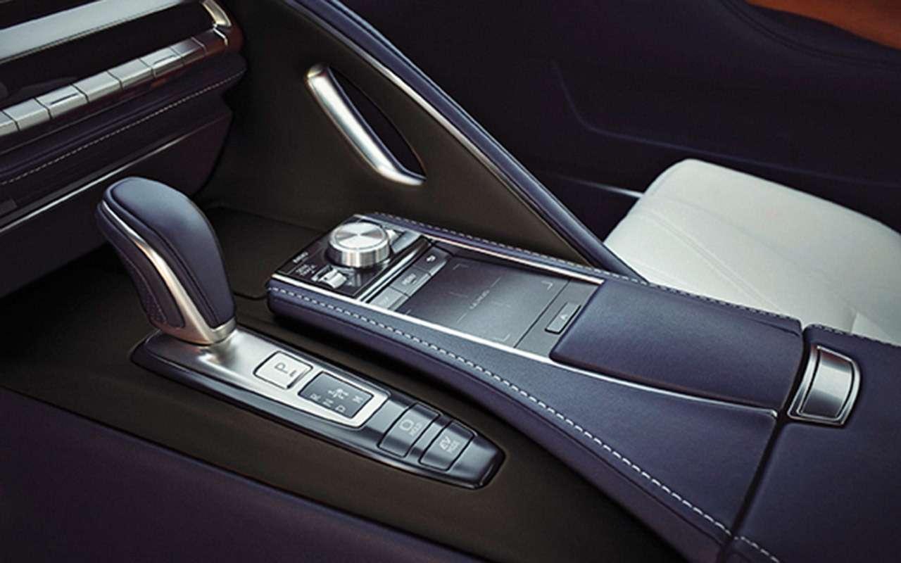 Lexus LC500— тест-драйв ЗР— фото 805879