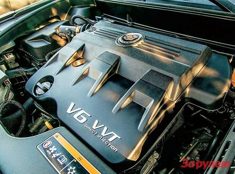 Новый двигатель объемом 3,6л снепосредственным впрыском 92-го бензина ирегулированием фаз VVT развивает 318 л.с. при 6800 об/мин и360Н·м при 2800 об/мин. Втрансмиссии всё таже6-диапазонная гидромеханика.